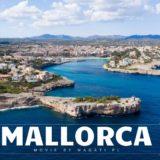 Film z drona z Majorki.