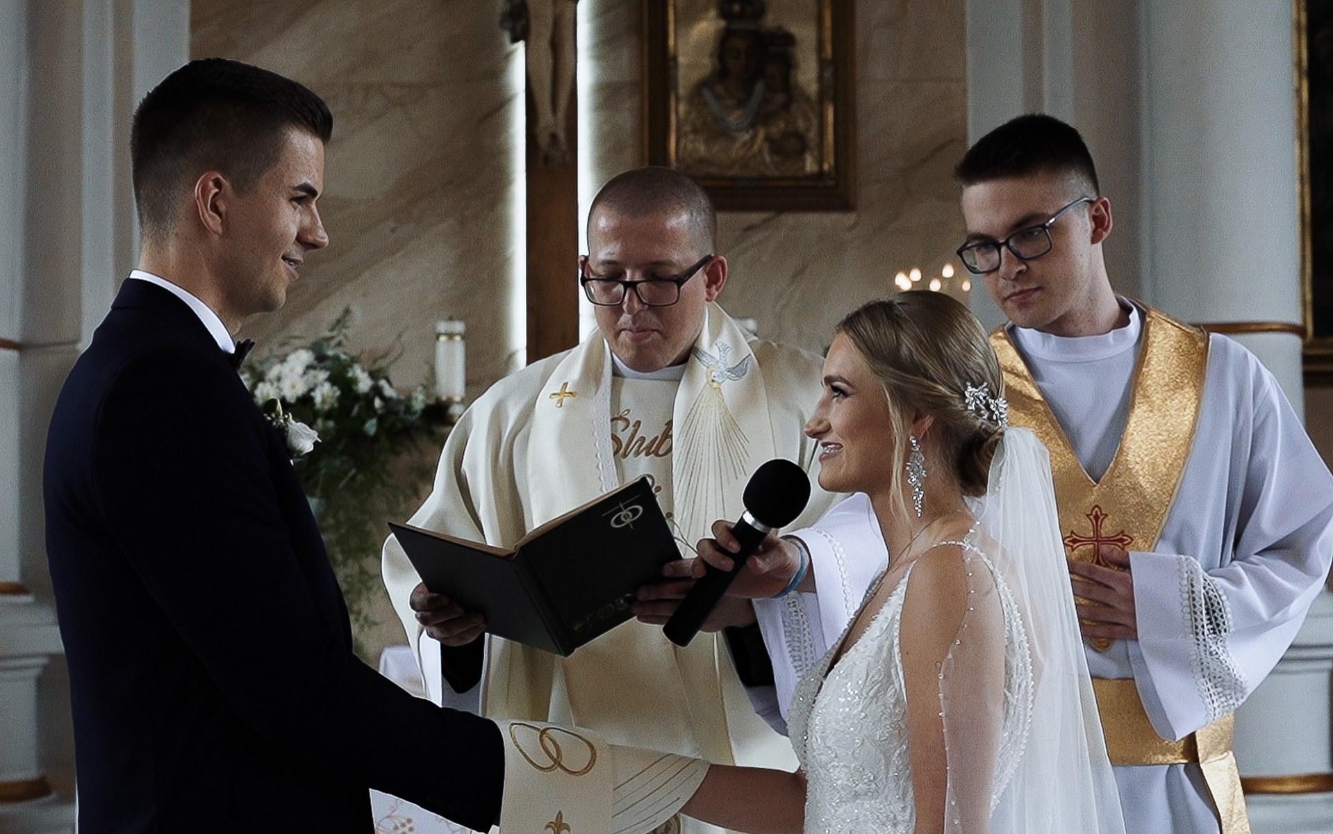 film ślubny przysięga małżeńska
