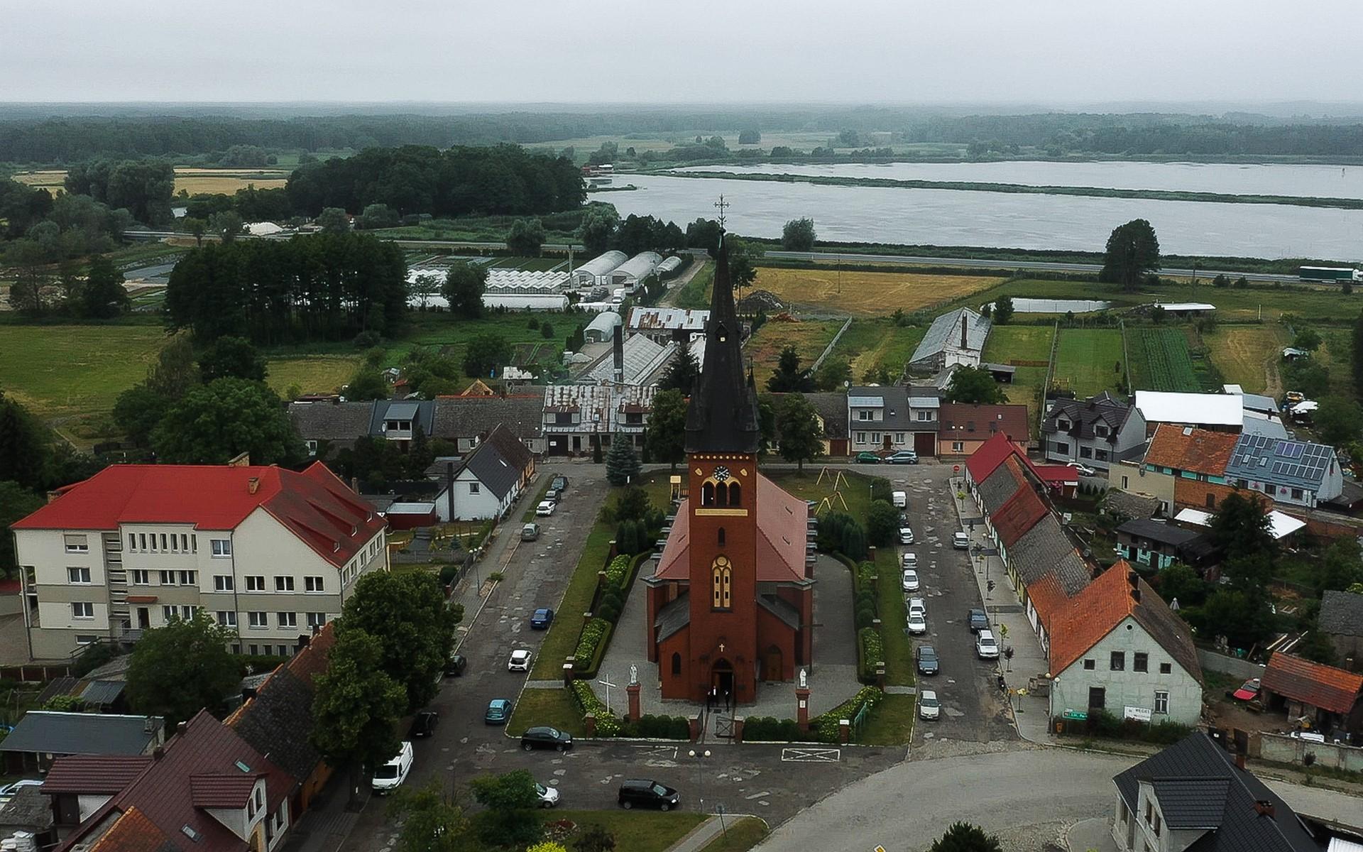 kościół trzciel