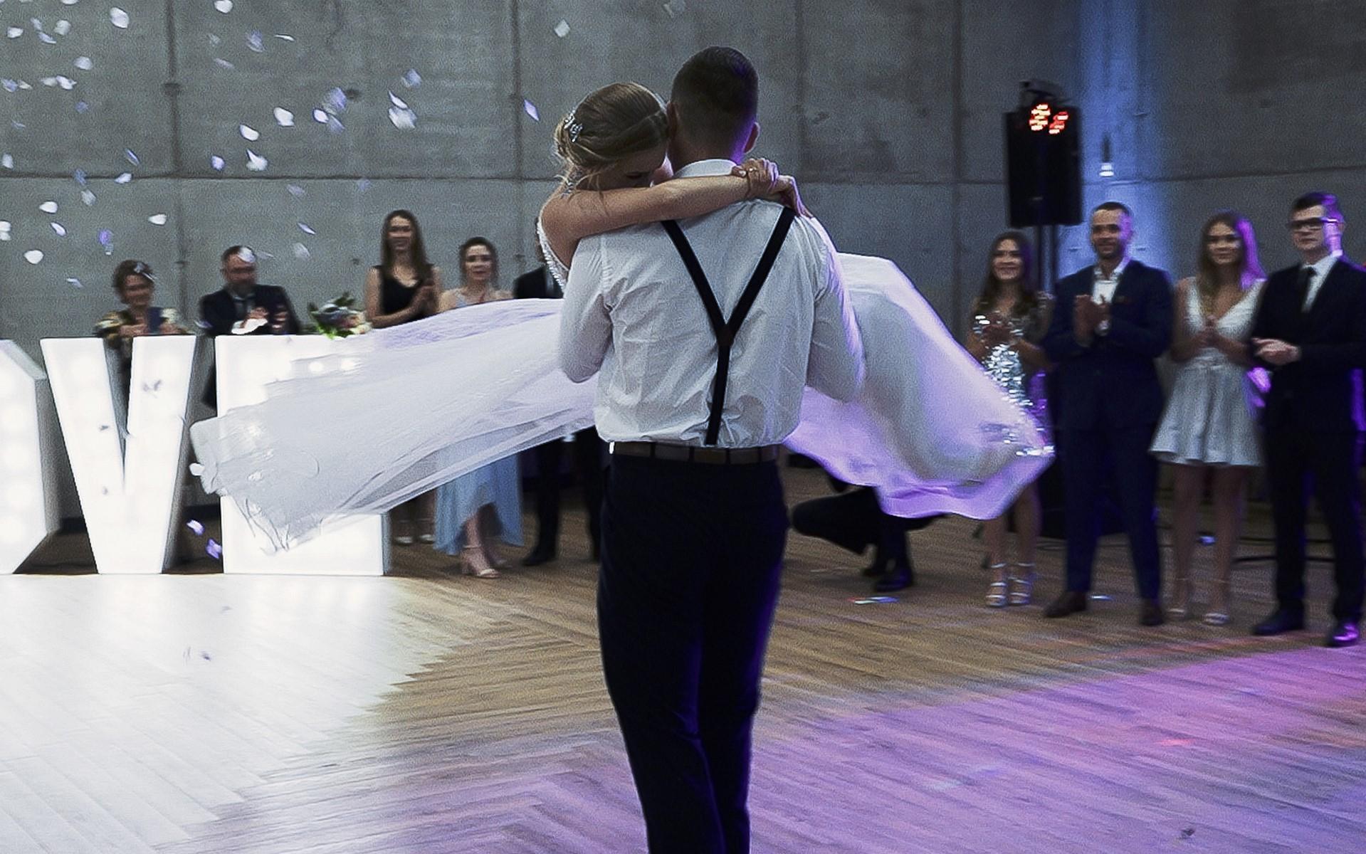 pierwszy taniec klimkowa osada film ślubny