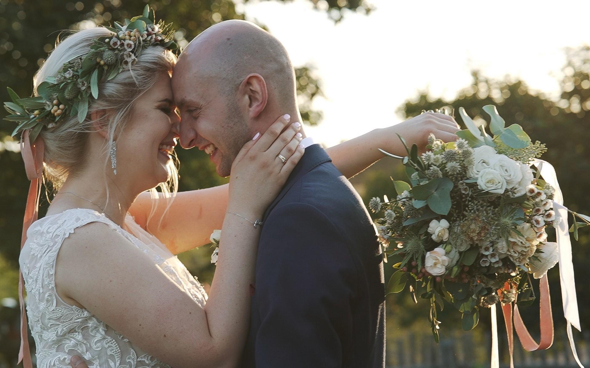 wesele w ranczo w dolinie film ślubny zakochani